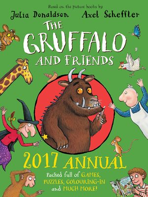 Book cover for The Gruffalo and Friends Annual 2017